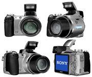 фотоапарат ультразум SONY DSC-H5  1350 грн
