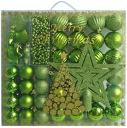 Искусственные елки и сосны. Новогодние украшения и игрушки