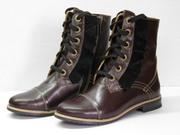 Продам кожаную подростковую обувь