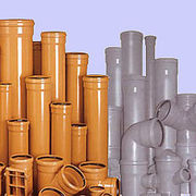 Трубы ПВХ и фитинги для наружной канализации ф110-500 Хмельницкий