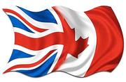 Візи в Канаду,  Англію