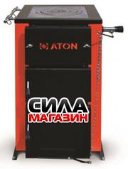 Твердотопливный котел плита ATON ТТК Combi 16 квт на дровах и угле