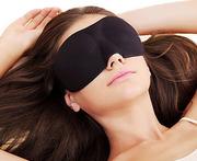 Спальная 3D маска для глаз (наглазник),  для отдыха и сна