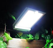Мощный уличный светильник на солнечных батареях,  датчик движения