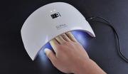 Лампа для маникюра UV-LED SUN 9S,  для сушки маникюра-педикюра,  24 Вт