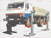 Продаю б.у. передвижной  подъёмник для грузовых автомобилей