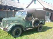 легковой автомобиль ГАЗ-69
